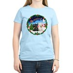 Santa's Take Off (2) = 2 Scotties Women's Light T-