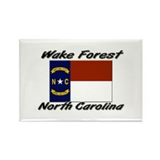 Wake Forest North Carolina Rectangle Magnet