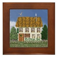 McGinty's Irish Pub Framed Tile