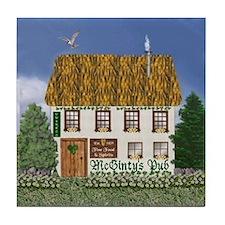 McGinty's Irish Pub Tile Coaster