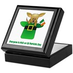 Everyone Is Irish Keepsake Box