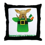 Everyone Is Irish Throw Pillow