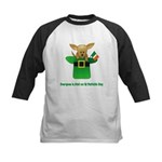 Everyone Is Irish Kids Baseball Jersey