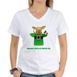 Everyone Is Irish Women's V-Neck T-Shirt