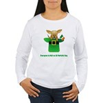 Everyone Is Irish Women's Long Sleeve T-Shirt