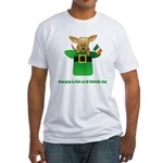 Everyone Is Irish Fitted T-Shirt