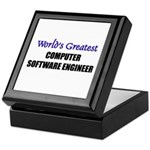 Worlds Greatest COMPUTER SOFTWARE ENGINEER Tile Bo