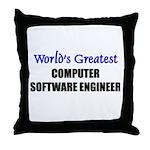 Worlds Greatest COMPUTER SOFTWARE ENGINEER Throw P