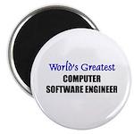Worlds Greatest COMPUTER SOFTWARE ENGINEER Magnet