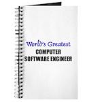 Worlds Greatest COMPUTER SOFTWARE ENGINEER Journal