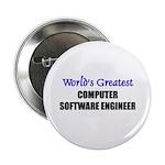 Worlds Greatest COMPUTER SOFTWARE ENGINEER Button