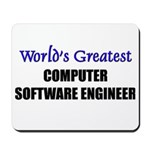 Worlds Greatest COMPUTER SOFTWARE ENGINEER Mousepa