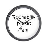 Rockabilly Music Fan! Wall Clock