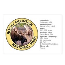Rocky Mountain NP (Moose) Postcards (Package of 8)
