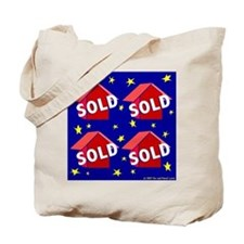 SUPERSTAR'S SOLD Tote Bag for Marketing Realtors