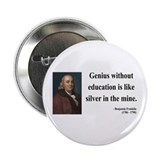 "Benjamin Franklin 12 2.25"" Button (100 pack)"