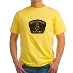 Seattle Police K-9 Unit Yellow T-Shirt