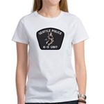 Seattle Police K-9 Unit Women's T-Shirt