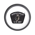 Seattle Police K-9 Unit Wall Clock