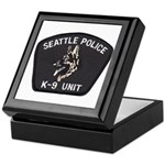 Seattle Police K-9 Unit Keepsake Box