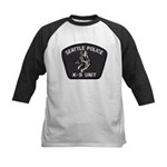 Seattle Police K-9 Unit Kids Baseball Jersey