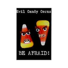 Evil Candy Corns Rectangle Magnet