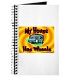 My House Has Wheels Journal