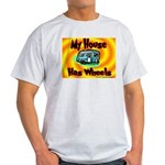My House Has Wheels Ash Grey T-Shirt