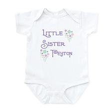 Little Sister Peyton Onesie