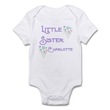 Little Sister Charlotte Infant Bodysuit