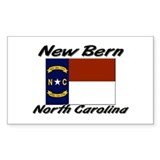 New Bern North Carolina Rectangle Decal