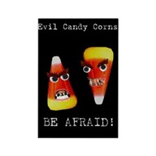 Evil Candy Corns Rectangle Magnet (10 pack)