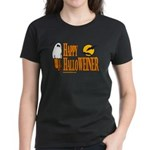 Happy HalloWEINER Women's Dark T-Shirt