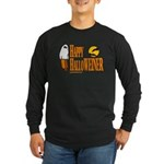 Happy HalloWEINER Long Sleeve Dark T-Shirt