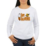 Happy HalloWEINER Women's Long Sleeve T-Shirt