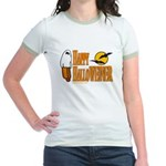 Happy HalloWEINER Jr. Ringer T-Shirt