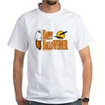 Happy HalloWEINER White T-Shirt