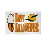 Happy HalloWEINER Rectangle Magnet (10 pack)
