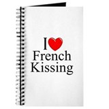 """I Love (Heart) French Kissing"" Journal"