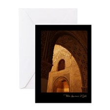 """Granada-Alhambra-1"" Greeting Card"