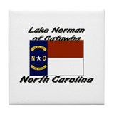 Lake Norman Of Catawba North Carolina Tile Coaster