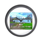 What Trailer Are You From? Wall Clock