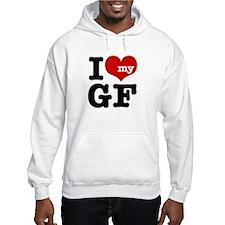I Love My GF (Girlfriend) Hoodie