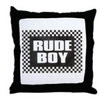 RUDE BOY Throw Pillow