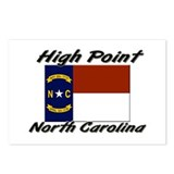 High Point North Carolina Postcards (Package of 8)