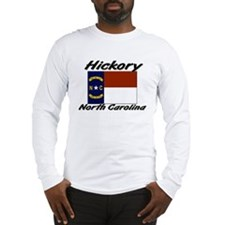 Hickory North Carolina Long Sleeve T-Shirt