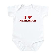 I LOVE NEHEMIAH Infant Bodysuit