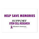 Help Save Memories Postcards (Package of 8)