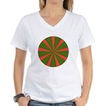 Holiday Pattern 001 Women's V-Neck T-Shirt