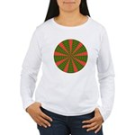 Holiday Pattern 001 Women's Long Sleeve T-Shirt